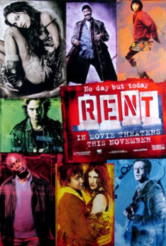 Rent Single-Sided Advance 27X40 Rosario Dawson Taye Diggs Poster