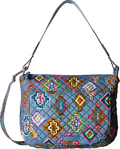 Vera Bradley Women's Carson Shoulder Bag Painted Medallions Handbag