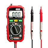 Dr.meter Classic Digital Multimeter 2000 Counts Electronic Amp Volt Ohm Meter Diode and Continuity Test for Home Use Hand Tools with Backlit LCD Display, MS8232