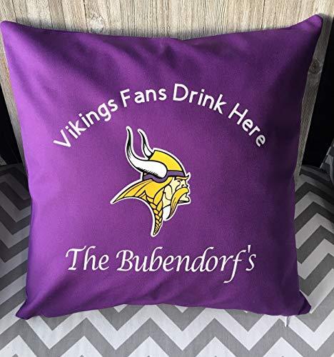 (King65irginia NFL Minnesota Vikings Pillowcase Minnesota Vikings Skol Vikungs Pillowcase case)