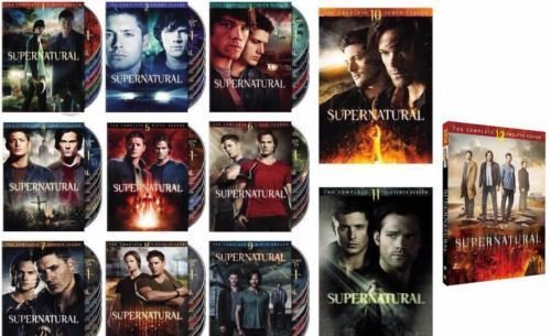 Supernatural Season 1-12 Bundle by