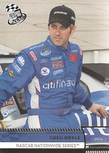 2009 Press Pass NASCAR Racing Gold #38 Greg Biffle NASCAR Nationwide Series ()