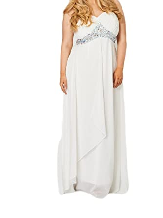 Womens Sexy Prom Dress - Wedding Prom Evening Cocktail Party Ladies Dresses Plus Size (14