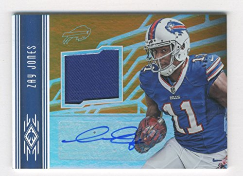 2017 Panini Phoenix Rookie Jersey Autographs Orange #2 Zay Jones /150