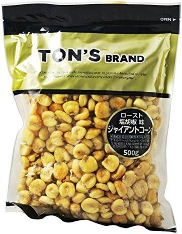 TON'S ジャイアントコーン (オイルロースト・塩胡椒味) 500g