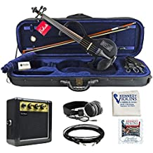Bunnel EDGE Clearance Electric Violin (Jet Black)