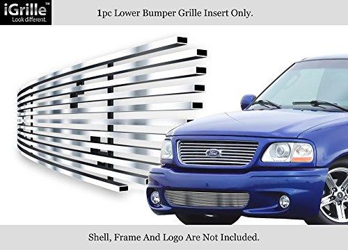 Fits 99-03 Ford F-150 Lightning Bumper Stainless Steel Billet Grille Insert - Billet Ford 03 F150 Grille