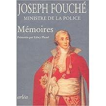 Mémoires de Joseph Fouché: Ministre de la Police