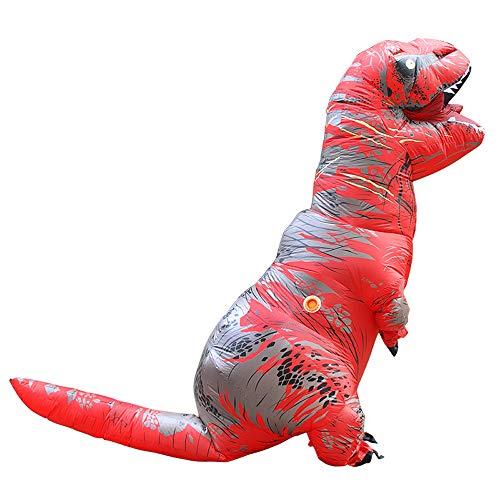 Dinosaur Costume Inflatable T-rex Cosplay Dress Adult Animal