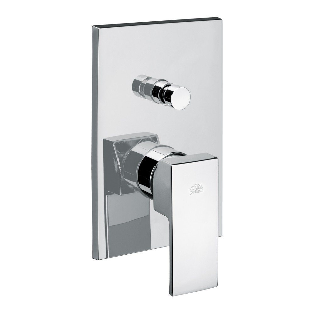 Paffoni LEVEL built in shower mixer with digreener LES015
