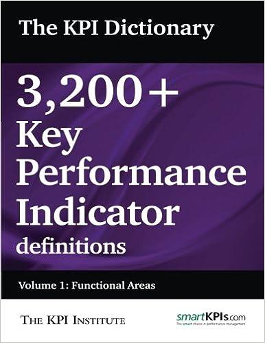 The KPI Dictionary: 3, 200+ Key Performance Indicator