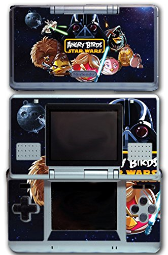 Angry Birds 2 Jedi Darth Vader Video Game Vinyl Decal Skin Sticker Cover for Original Nintendo DS System