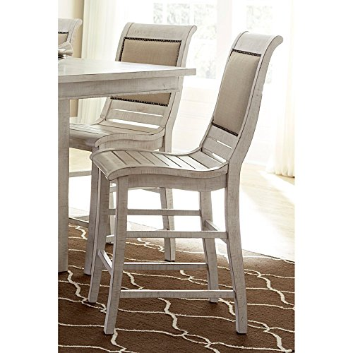 Progressive Furniture Willow Dining Counter Upholstered Chairs Review