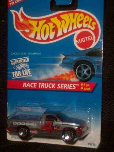 Hot Wheels Race Truck Series #1 Dodge Ram 1500 Gray 5-Spoke - Wheels Hot Ram Dodge
