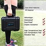 Lekufee Small Portable Waterproof Hard Case