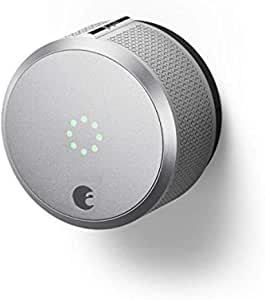 August Smart Lock Pro, 3rd Generation - Works with Alexa, AUG-SL-CON-S03, 1.5V