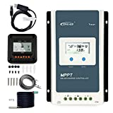 EPEVER 30A Solar Charge Controller MPPT,TracerAN 3210AN + Remote Meter MT-50 Solar Charge