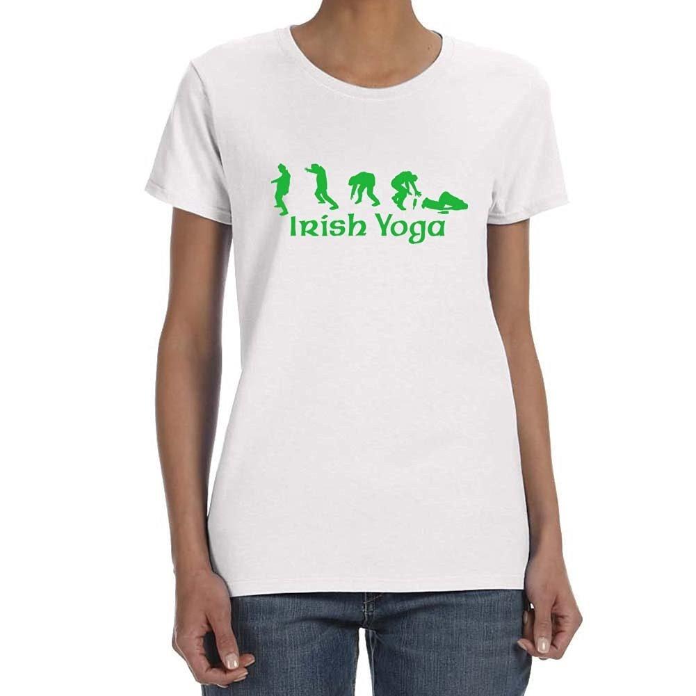 Treask Womens IRISH YOGA T-shirt: Amazon.es: Ropa y accesorios
