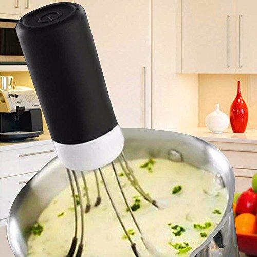 MAZIMARK--Wireless Automatic Kitchen Robot Auto Stirrer Blender Food Sauce Maker 19 x 4 CM