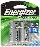 Energizer C2 Rechargeable, Size C, 2-Count