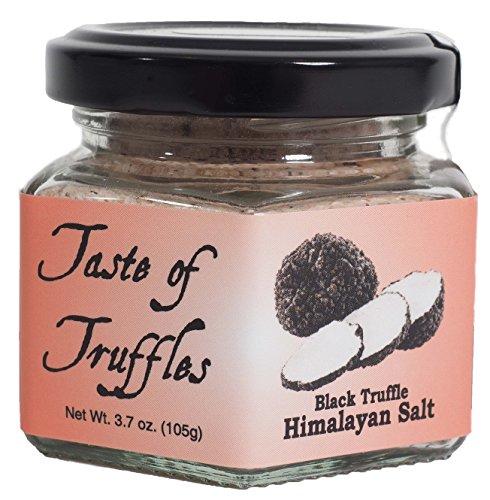 Taste of Truffles | Black Truffle Himalayan Pink Salt 14% | wt 3.7 oz