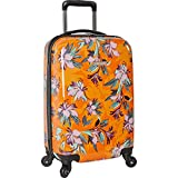 Nine West 20' Expandable Hardside Spinner Carryon Luggage, Orange Tropic