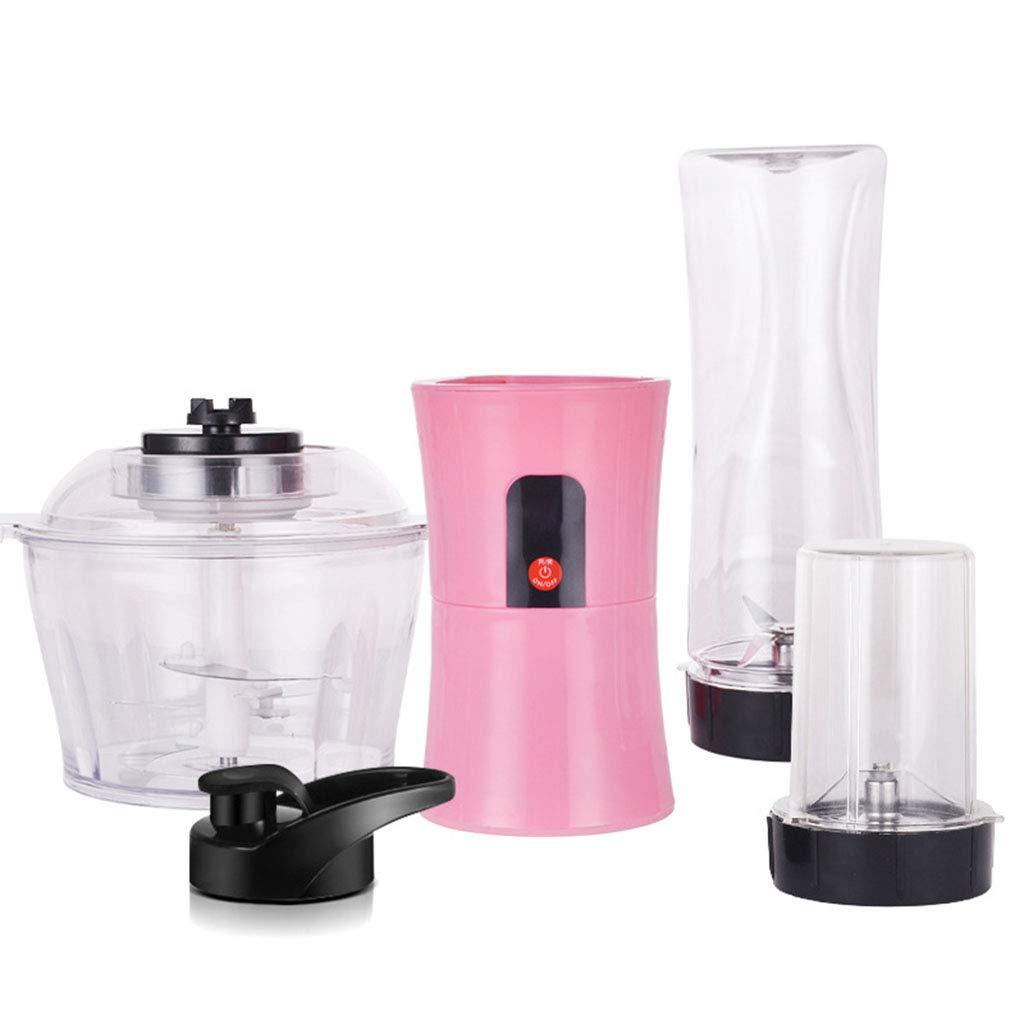 Iash Mixer 3 en 1 máquina mezcladora eléctrica Multifuncional para el hogar máquina de la nutrición Exprimidor de Carne picadora con 4 Cuchillas de Mezcla: ...