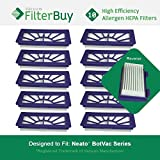 10 FilterBuy Neato XV 21 Compatible Filters. Designed by FilterBuy to fit Neato XV Series Robot Vacuums