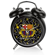 "Official Licensed Genuine FC Barcelona Lionel Messi W/ Messi Signature Print 6.5"" Height Alarm Clock - Official FC Barcelona Merchandise W/Tags"
