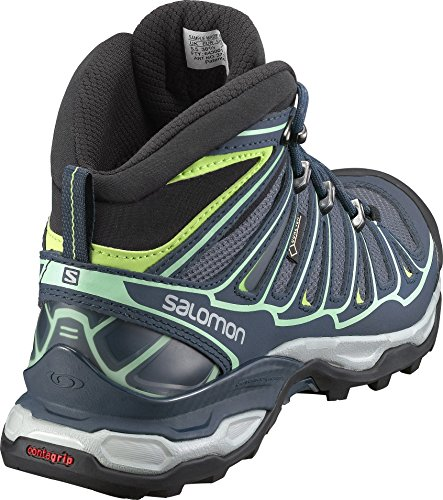 Salomon Womens X Ultra Mid 2 GTX Hiking Shoe Grey Denim/Deep Blue/Lucite Gr ER4kdsaCc