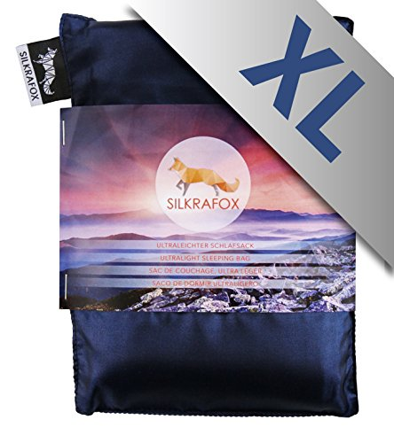 Silkrafox super king sized ultralight artificial backpacking product image