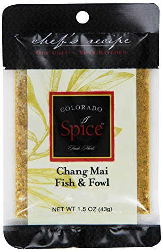 (Colorado Spice Company, Seafood Spice, Chang Mai Fish & Fowl, 1.5-Ounce Packet (Pack of 12))