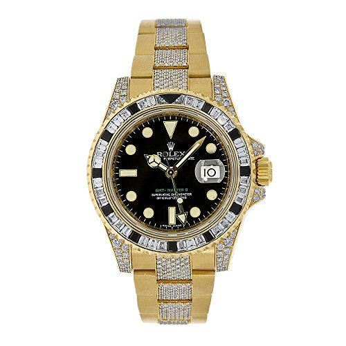 Rolex Gmt Master Ii Automatic Self Wind Male Watch 116758  Certified Pre Owned