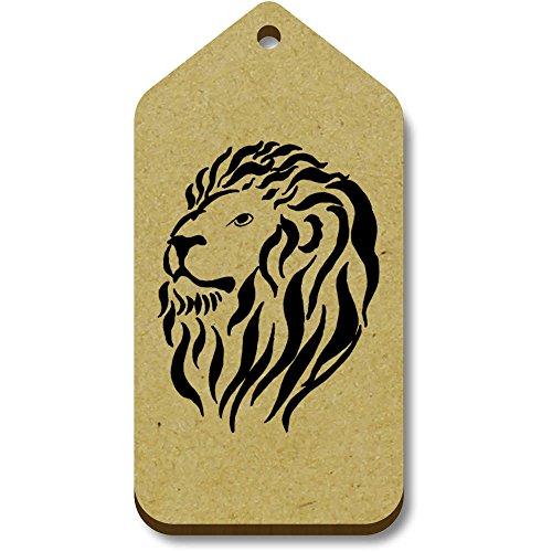 Azeeda 66mm head' 10 X 34mm Tag regalobagagliotg00004901 'Lion PiTOkZwXu