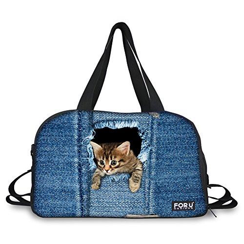 Denim Duffle Bag - 9