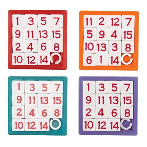 Unique Party-Numéro Puzzles Coulissants, 84765