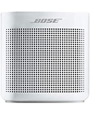Bose SoundLink Color II: Portable Bluetooth, Wireless Speaker with Microphone- Polar White