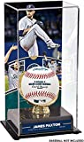 Sports Memorabilia James Paxton Seattle Mariners No-Hitter Sublimated Display Case with Image - Baseball Free Standing Display Cases