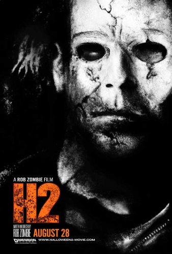 Halloween 2 Movie Poster (27 x 40 Inches - 69cm x 102cm) (2009) Style B -(Sheri Moon Zombie)(Chase Wright Vanek)(Scout Taylor-Compton)(Brad Dourif)(Caroline Williams) -