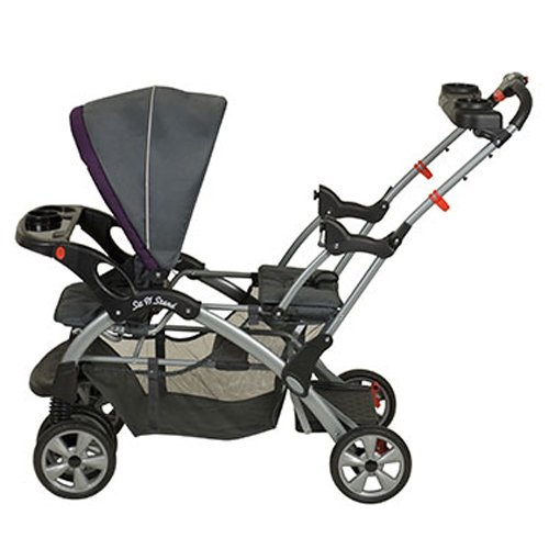 Baby Trend Sit N Stand Double Travel System Stroller & Car Seat - Elixer by Baby Trend (Image #5)