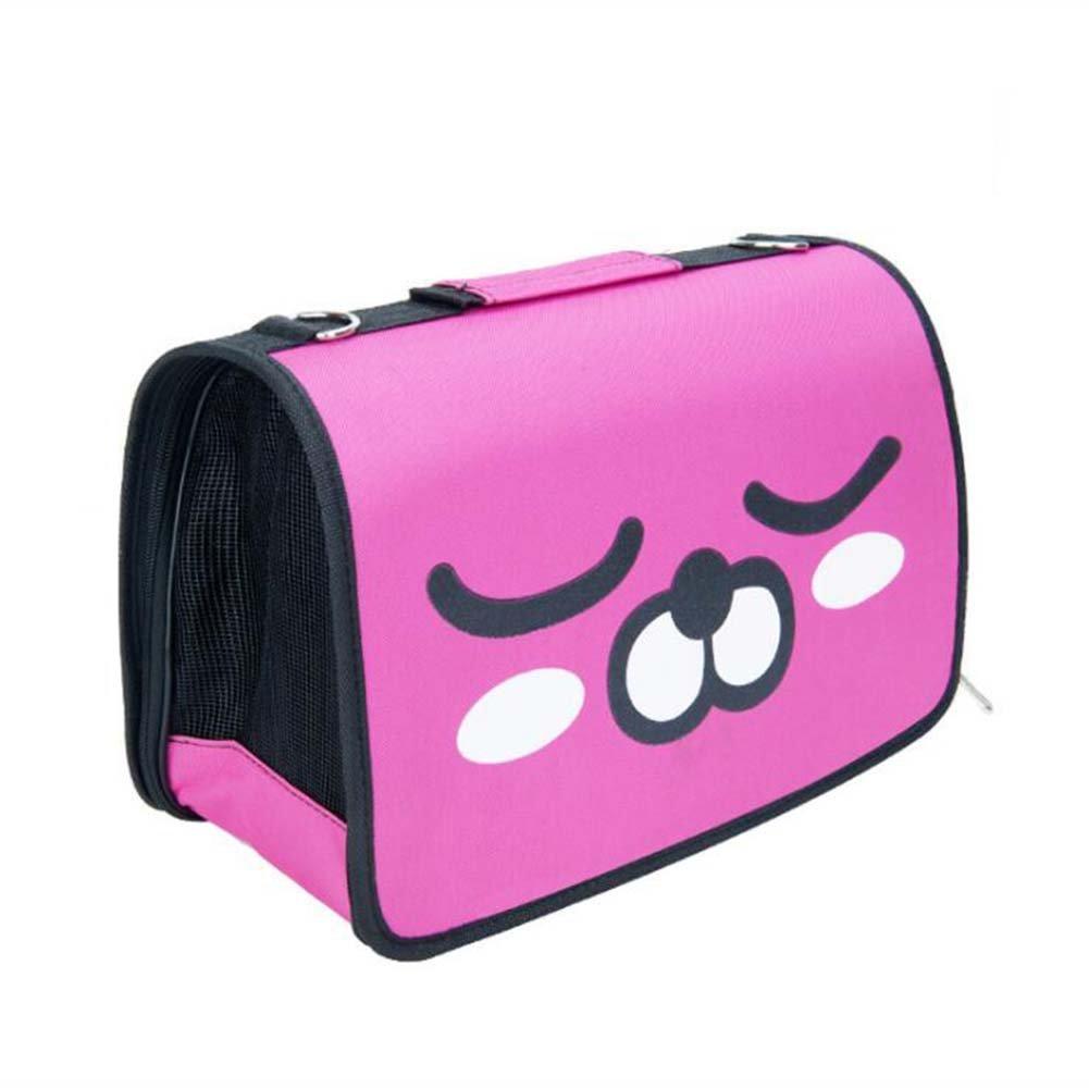 A L532231cm A L532231cm Cartoon Expression Breathable Cat Backpack Shoulder Bag,A,L5322  31Cm