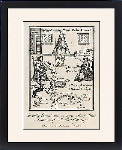 Framed Print Of Matthew Hopkins by Prints Prints Prints