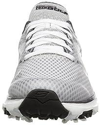 Skechers Performance Men\'s Go Golf Blade Golf Shoe, White/Charcoal, 9.5 M US