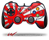 Rising Sun Japanese Flag Red - Decal Style Skin fits Logitech F310 Gamepad Controller (CONTROLLER SOLD SEPARATELY)