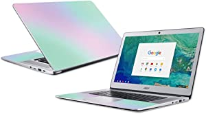 "MightySkins Skin Compatible with Acer Chromebook 15"" (2018) - Cotton Candy 