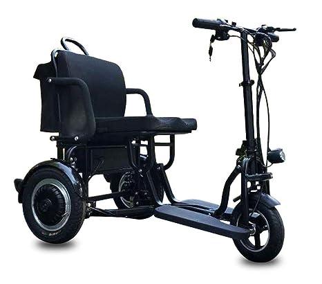CYGGL Mini Triciclo eléctrico Plegable, Hombre Viejo y ...