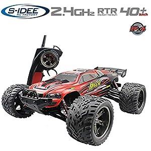 s-idee® 18160 9116 RC Auto Buggy Monstertruck impermeabile 1:12 con 2,4 GHz oltre 40 km/h, maneggevole, completamente… 8 spesavip