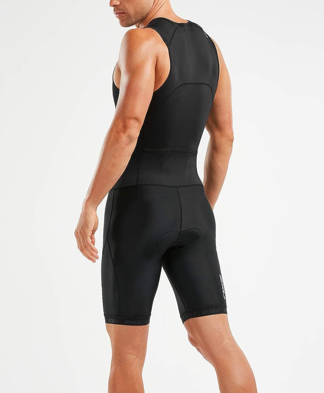 2XU UK - Traje de triatlón para Hombre, Hombre, Color Negro ...