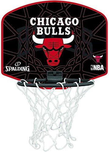 Spalding NBA Chicago Bulls Mini Canasta de Baloncesto, Unisex ...