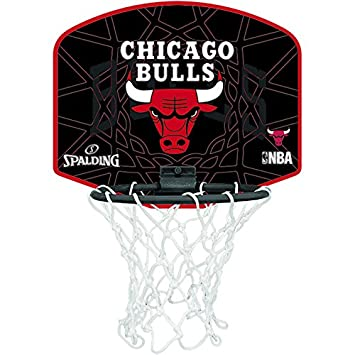 Spalding NBA Chicago Bulls Mini Canasta de Baloncesto d2e91c0c6be